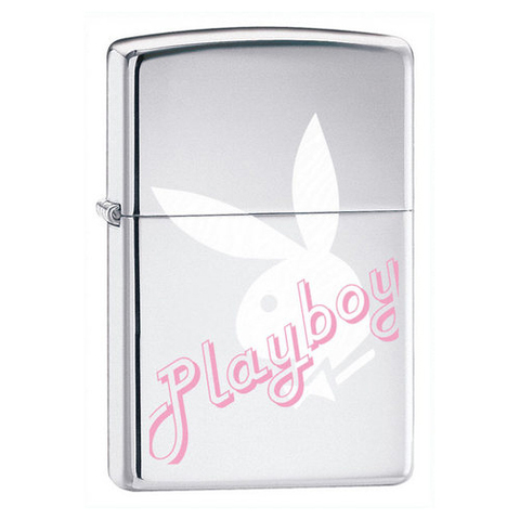 Зажигалка Zippo Playboy High Polish Chrome