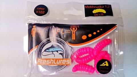 Силиконовая приманка FreshLures Mokhnatka 1.2