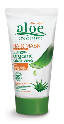 Маска для сухих волос ALOE TREASURES от Pharmaid
