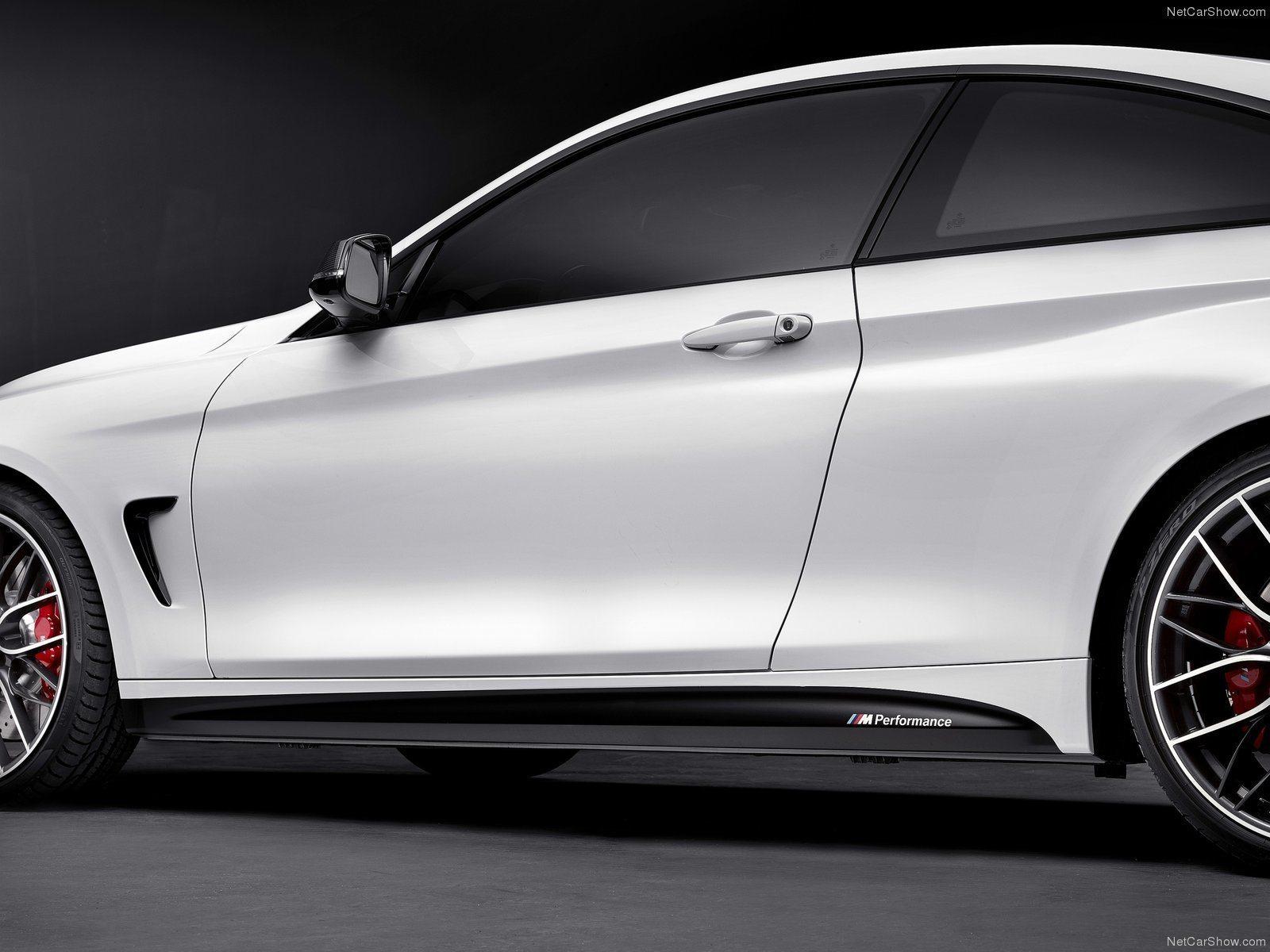 Карбоновые ручки дверей Performance Style для BMW 4er