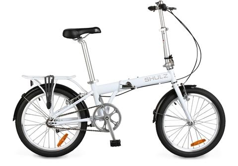 складной велосипед Shulz Max белый