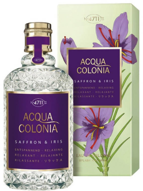 Maurer & Wirtz 4711 Acqua Colonia Saffron & Iris EDC