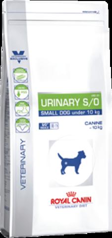 Royal Canin URINARY S/O SMALL DOG USD 20 для собак мелких пород при МКБ