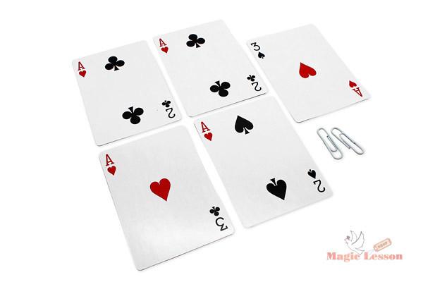 Карточный набор для фокусов