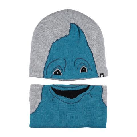 MOLO Kleo шапка из шерсти + снуд для мальчика