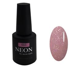Розовый с мелким шиммером гель-лак NEON