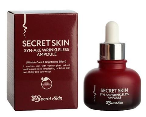 Антивозрастная сыворотка для лица с пептидом змеиного яда Syn-ake Secret Skin