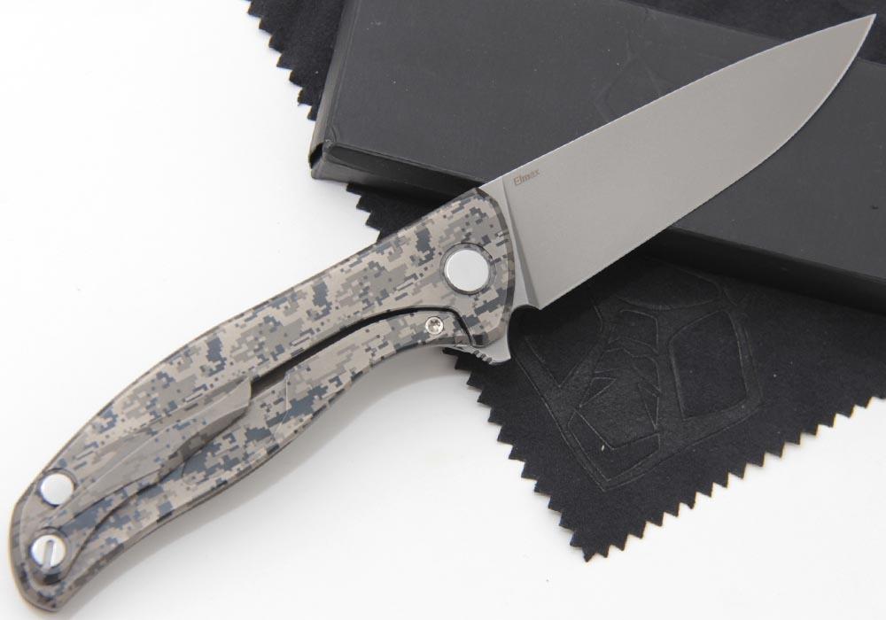 Нож Широгоров Ф 95 Нудист Кастом Камуфляж - фотография