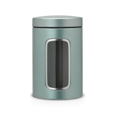 Контейнер для сыпучих продуктов с окном 1,4л, артикул 484360, производитель - Brabantia