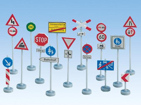 Дорожные знаки, (H0)