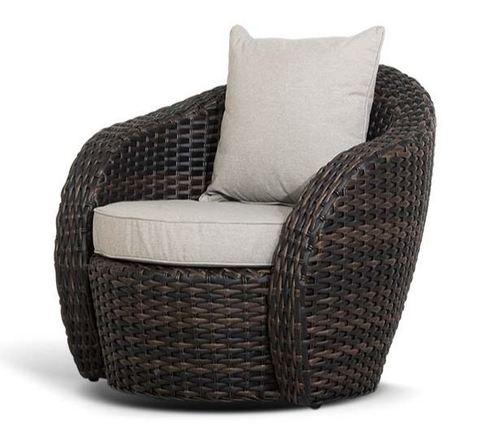 Кресло Avella темно-коричневое