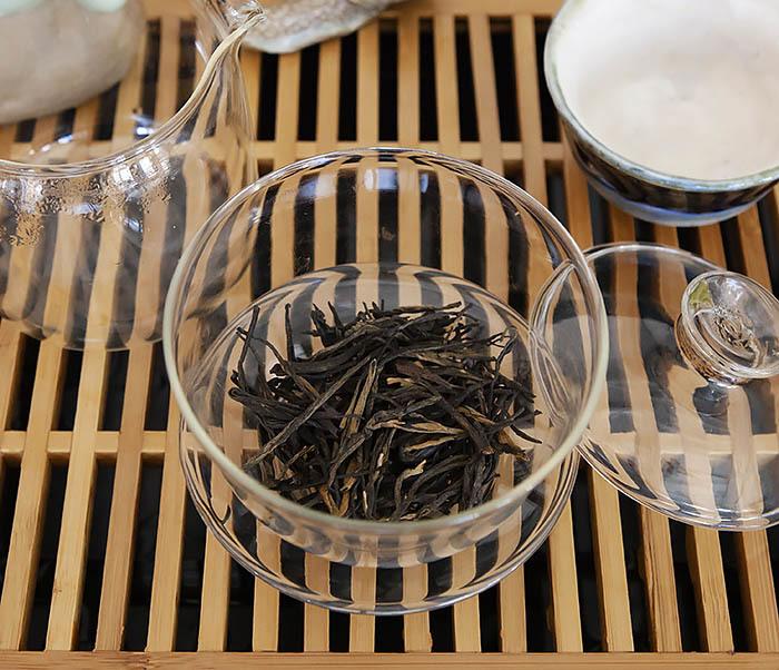 TEA-CH127 Китайский красный чай «Сосновые Иглы» (Сун Чжень Дянь Хун, 50 гр) фото 07