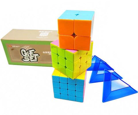 Набор кубиков 2+3+4 set MOYU TRIPLE COMBO YU