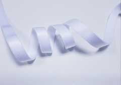 _Бретелечная резинка без фестонов, 10мм, белый, (Арт: BR640/10-001), м