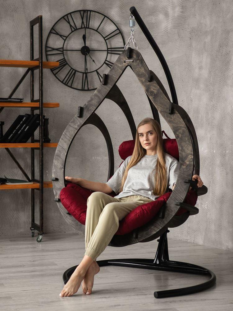 Подвесные кресла Подвесное кресло-кокон Капулло (Эбеновое дерево) podvesnoe-kreslo-kokon-capullo-cvet-ebenovoe-derevo-4.jpg