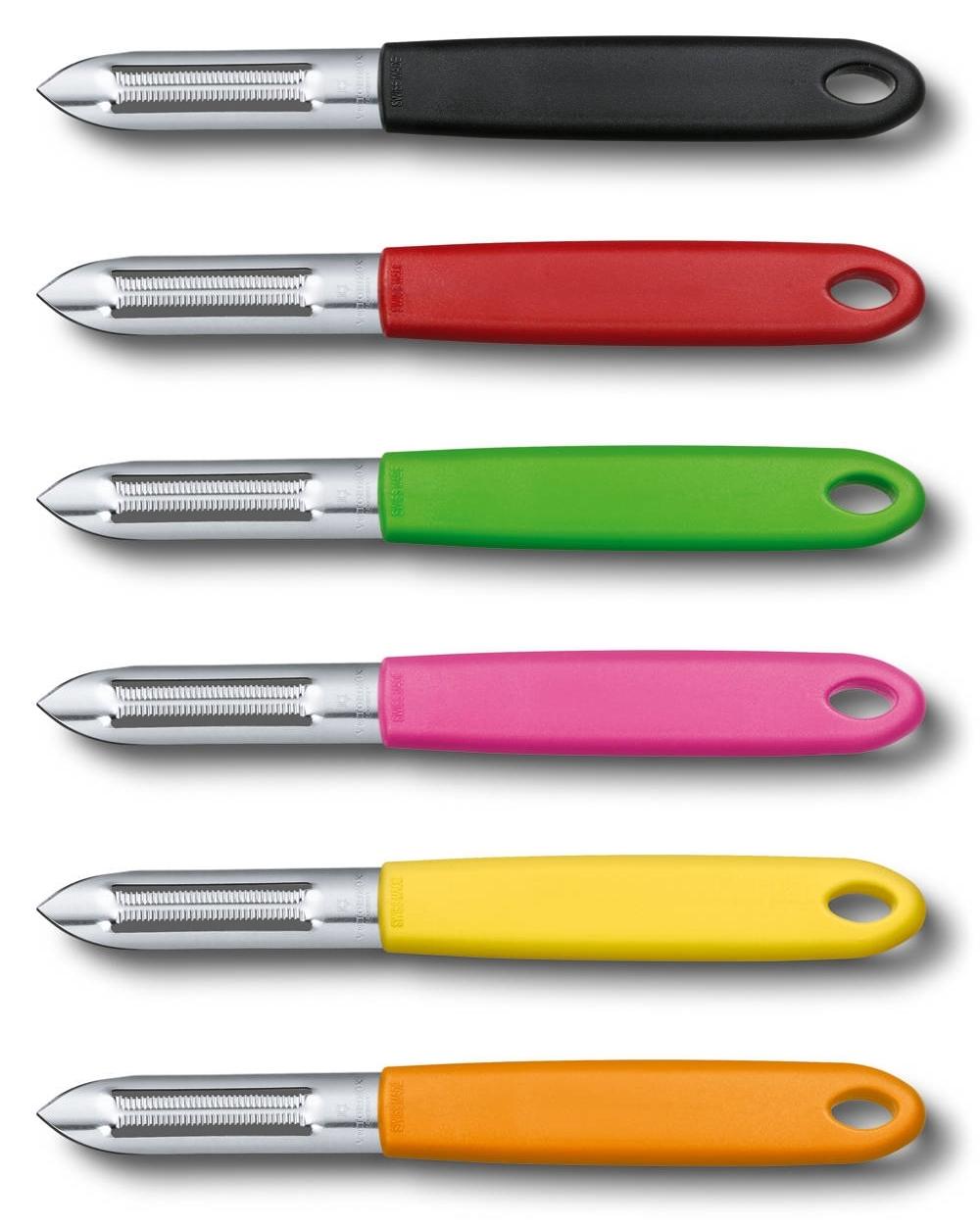 Нож Victorinox для чистки овощей, чёрный (7.6077)