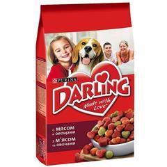 Сухой корм Purina Darling для собак всех пород, мясо с овощами 1кг