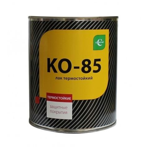 Лак термостойкий CERTA КО-85 до 250С 0,8кг бесцветный