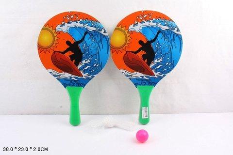 Ракетки для тенниса 1-02 в пакете K884-H30002