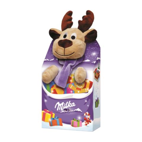 Milka plush toy Шоколад + игрушка 96 гр
