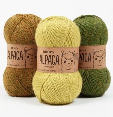 ALPACA UNI COLOUR  (цена за упаковку)