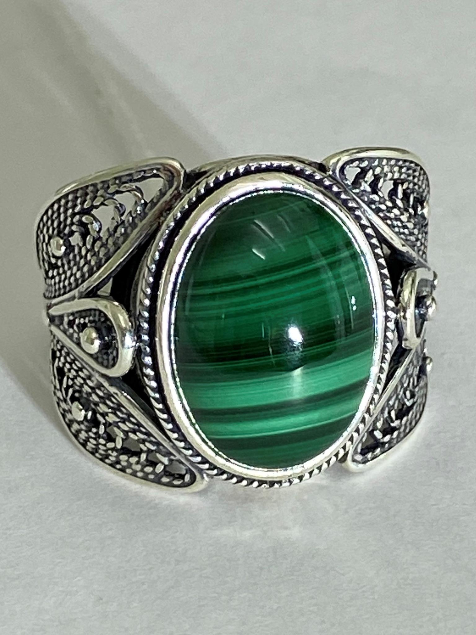 Феникс (кольцо из серебра)