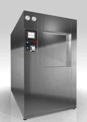 Стерилизатор паровой с автоматическим управлением PHS-300 проходной со встроенным парогенератором - фото