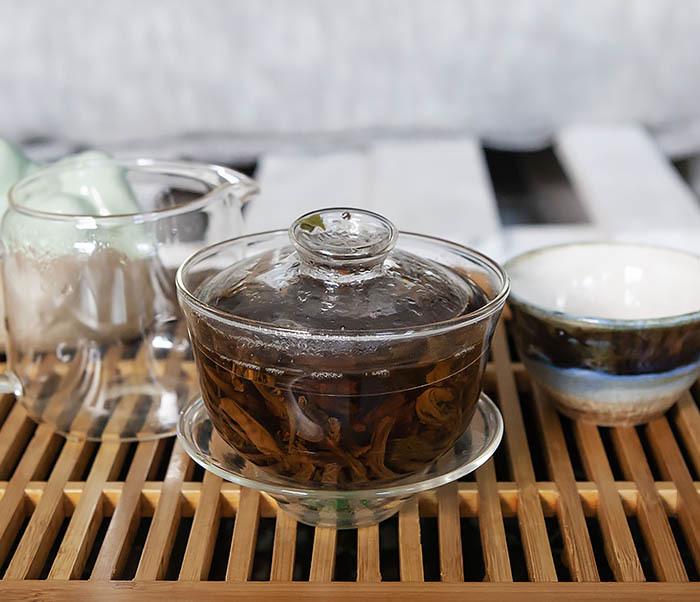 TEA-CH127 Китайский красный чай «Сосновые Иглы» (Сун Чжень Дянь Хун, 50 гр) фото 09
