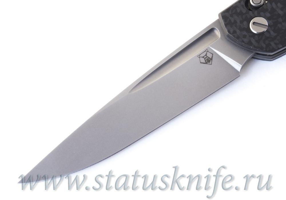 Нож Широгоров 110 S35VN карбон 3D долы - фотография