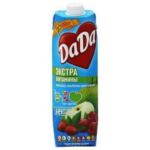 Нектар DA-DA Яблоко Малина Шиповник б/сахара 0,95 л КАЗАХСТАН