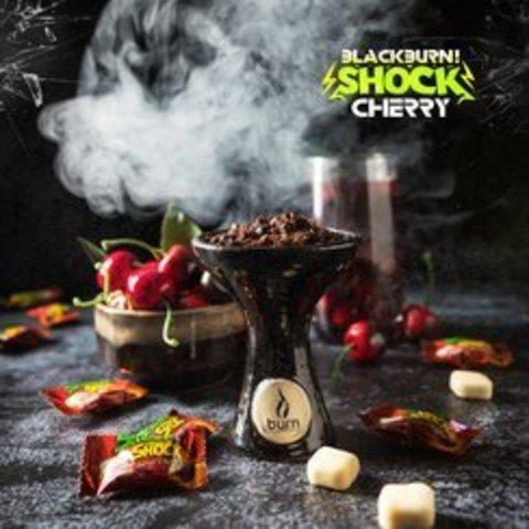 Табак Black Burn Cherry Shock (Кислая Вишня) 200г