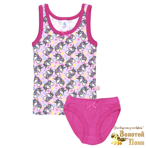 Комплект хлопок девочке (2-10) 210317-У78099