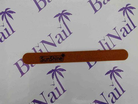 Пилка тонкая SunShine (120/180) коричневая, прямая