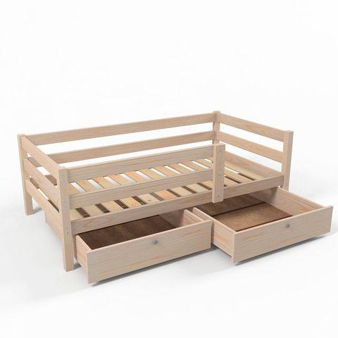 Ящики (комплект 2 шт) для кровати Софа 180х90 фасад без покрытия