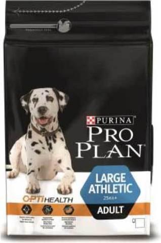 18 кг. PURINA PRO PLAN Сухой корм для взрослых собак крупных пород с атлетическим телосложением с курицей Adult Large Athletic Chicken