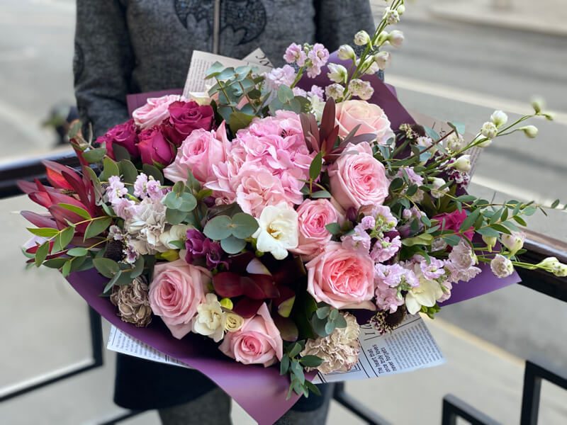 Букет цветов 336