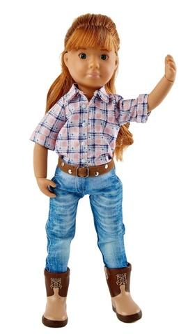 Куколка Хлоя-ковбой, Kruselings, 23 см