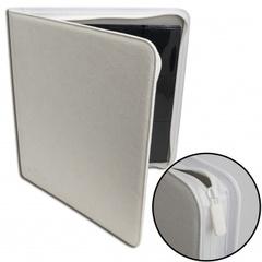 Blackfire - 12-Pocket Premium Zip-Album - White