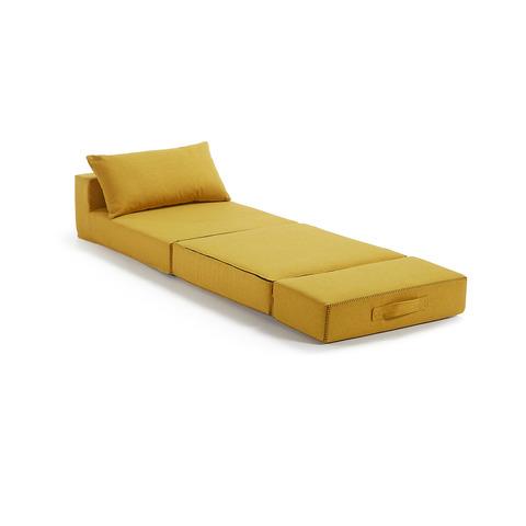 Пуф-кровать Arty горчичный
