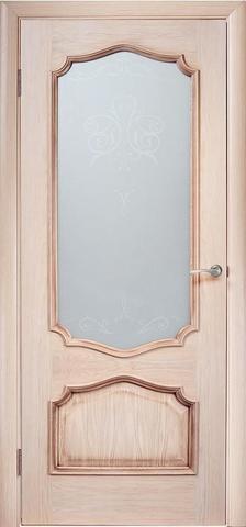 Дверь Green Plant Прима (слоновая кость, остекленная, массив сосны)