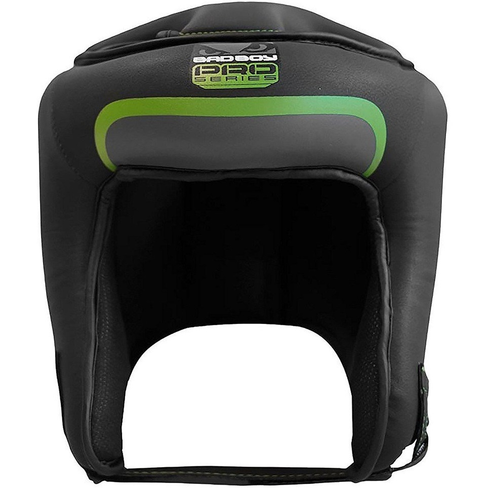 Шлемы Шлем Bad Boy Pro Series 3.0 Open Face Head Guard Green 1.jpg