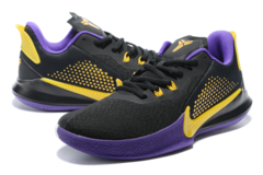Nike Mamba Fury 'Black/Purple/Yellow'