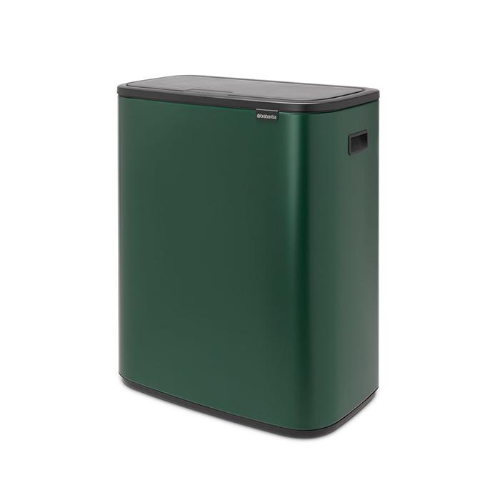 Мусорный бак Touch Bin Bo (60 л), Зеленая сосна, арт. 304248 - фото 1