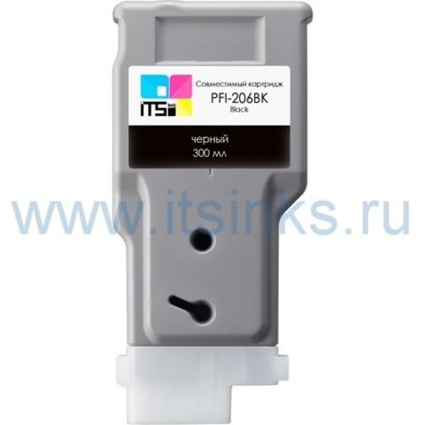 Картридж PFI-206BK 300 мл