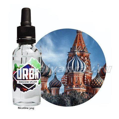 Жидкость URBN - MOSCOW SPLASH 3 мг никотина