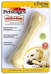 Игрушка для собак Petstages Chick-A-Bone косточка с ароматом курицы 14 см средняя