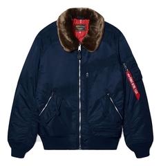 Куртка Alpha Industries Injector MOD Flight Jacket синяя