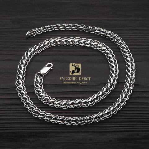 купить серебряную цепь  на шею