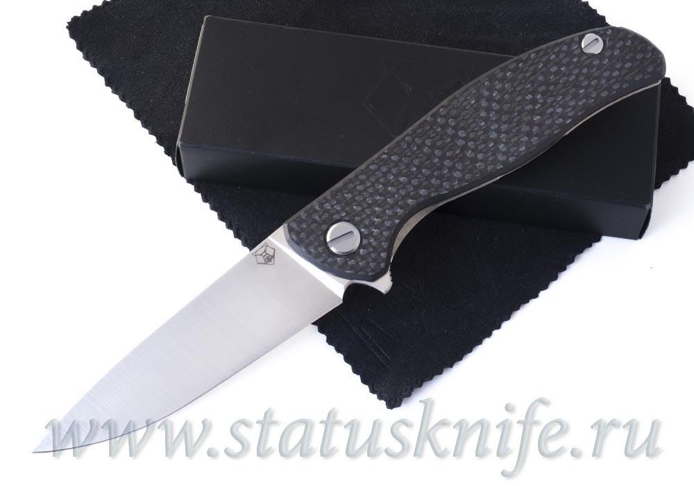 Нож Широгоров Хати Hati CowryX CF сатин