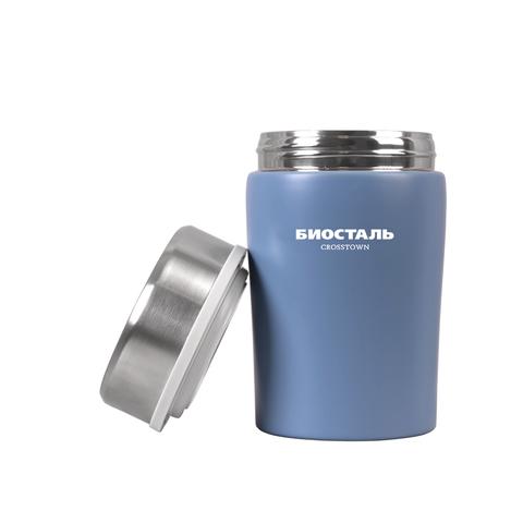 Термос для еды Biostal Crosstown (0,5 литра), синий